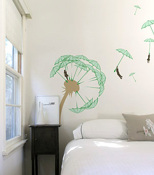 threadless wall decal
